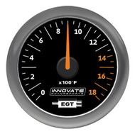 Innovate MTX-A: Exhaust Gas Temperature (EGT) Gauge