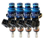 Fuel Injector Clinic 1100cc Mitsubishi DSM Injector Set (High-Z)