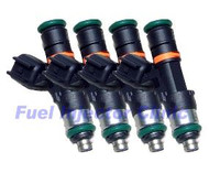 Fuel Injector Clinic 900cc Subaru ('04-'06) STi FIC Rail* Injector set (High-Z)