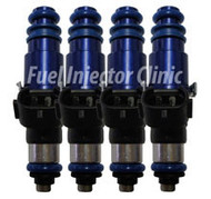 Fuel Injector Clinic 2150cc Subaru ('04-'06) STi FIC Rail* BlueMAX Injector set (High-Z)