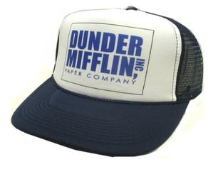 Trucker Hat Mesh Hat Snapback Hat Navy/white front