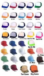Hat color options