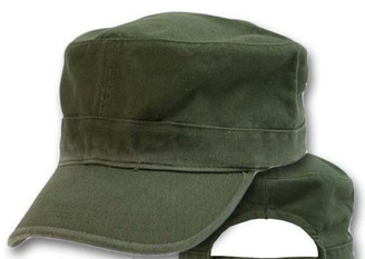 Olive Drab cotton Military cap fatigue hat cadet hat