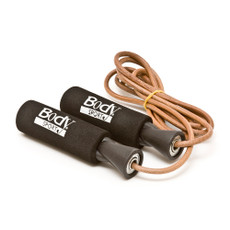 BODY SPORT LEATHER SPEED ROPE LATEX-FREE