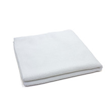 16x16 Microfiber Towels, White