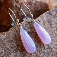 holly blue agate earrings 1 at all that glitters colorado springs co
