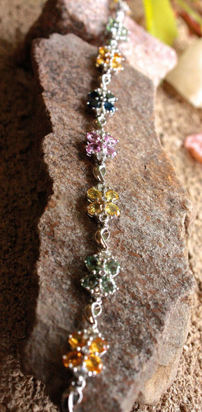 multi sapphire bracelet 1 by vardi at all that glitters colorado springs co