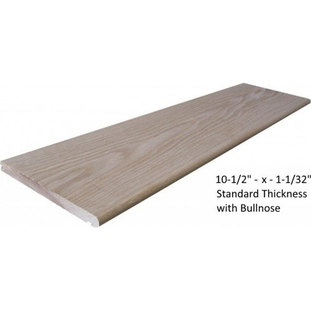 """10-1/2"""" stair tread from Lighted Landings. 133 Chesterfield Industrial Blvd, Chesterfield, MO 63005"""