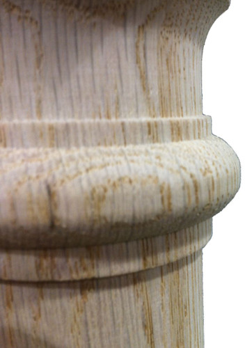 Quality Wood Turnings start with quality tooling. You can feel a difference with Lighted Landings stair parts.