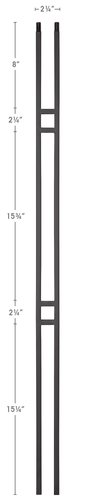 modern style balusters