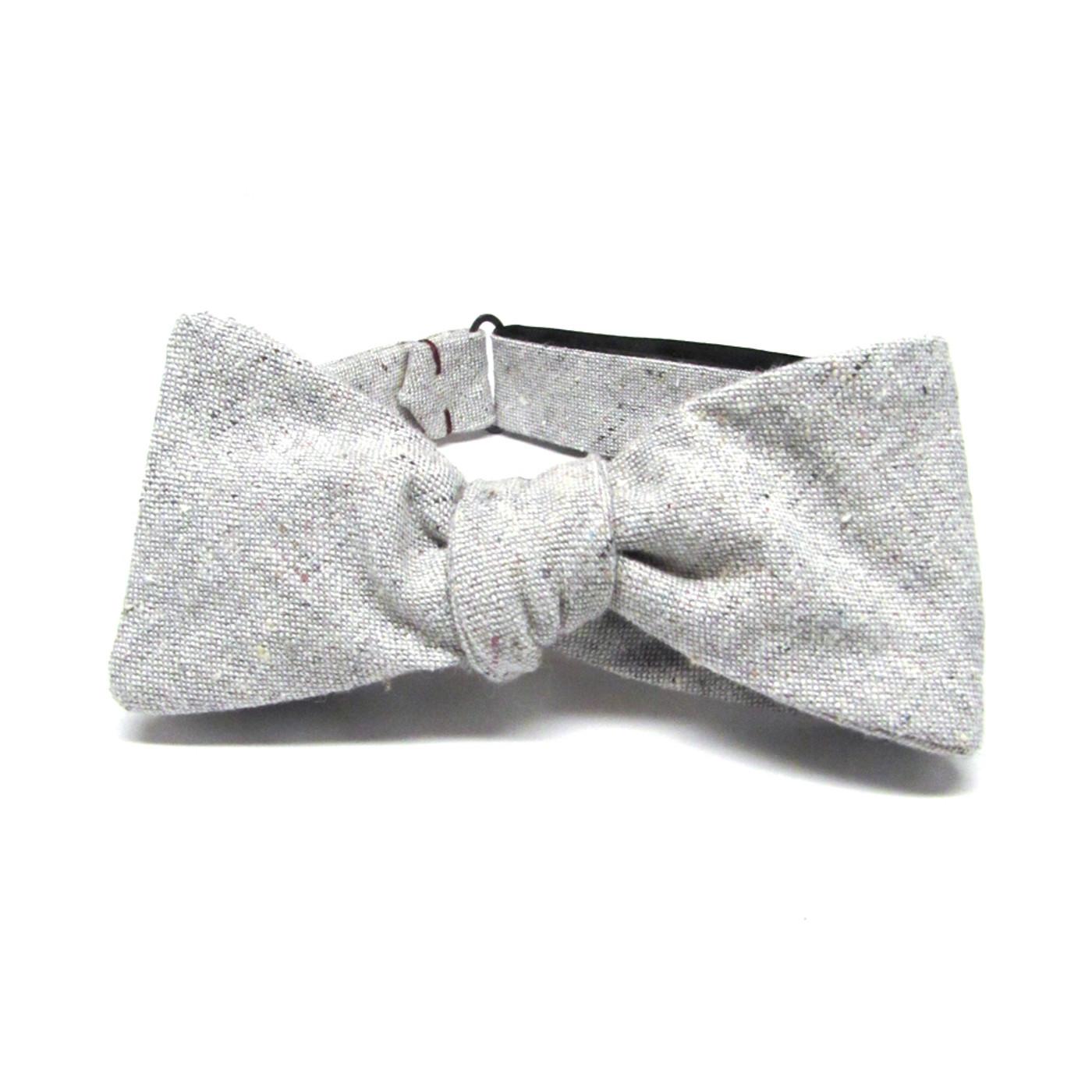 Heathered Grey Bow Tie