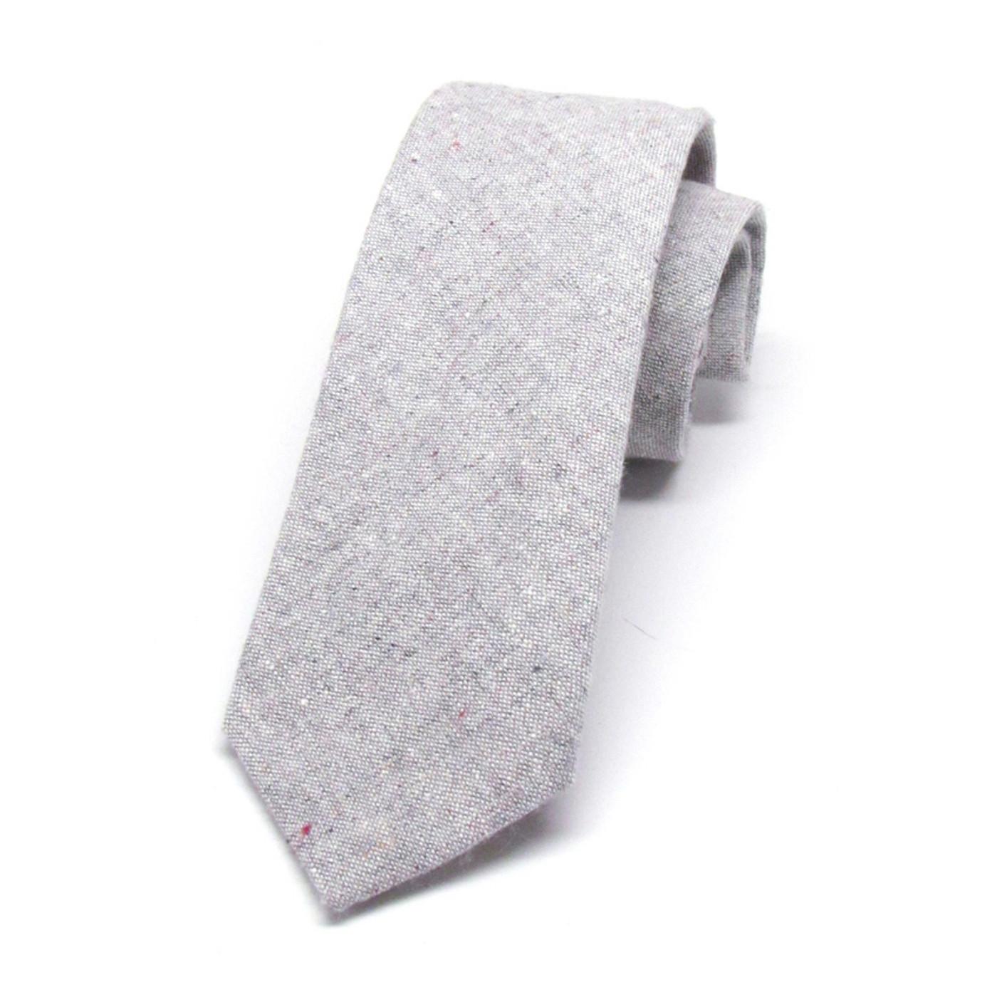Heathered Grey Necktie