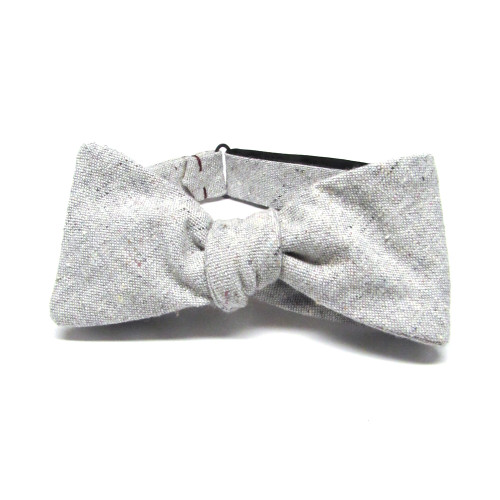 Heathered Grey Bow Tie