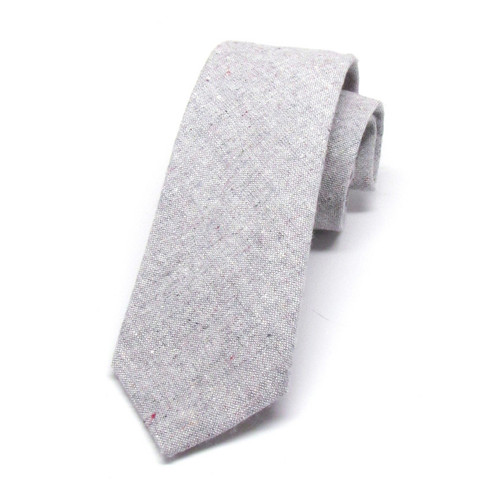 Heathered Grey Necktie
