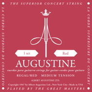Augustine Classical Guitar Strings, Medium Tension - Red
