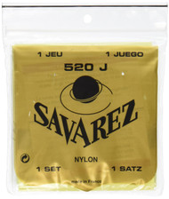 Savarez 520J Traditional Classical Guitar Strings, Very High Tension, Yellow Card