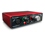 Focusrite Scarlett Solo Compact USB Recording Audio Interface w/ Ableton Live Lite