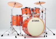 Tama Superstar Classic 5pc. Drum Set With Hardware CK52KBOS Bright Orange Sparkle