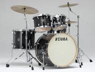 Tama Superstar Classic 5pc. Drum Set With Hardware CLK52KTPB Transparent Black Burst