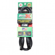 ProX XC-MIC05XLR-F to XLR-M Balanced High Performance Microphone Cable 5FT