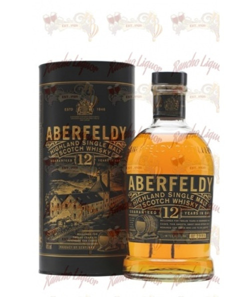 Aberfeldy 12 Yr Single Malt Scotch Whisky 750 mL