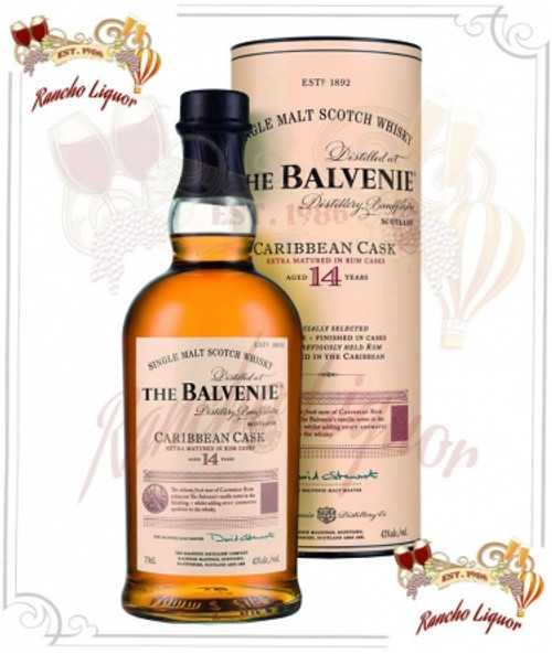 Balvenie 14 Year Single Malt Whiskey