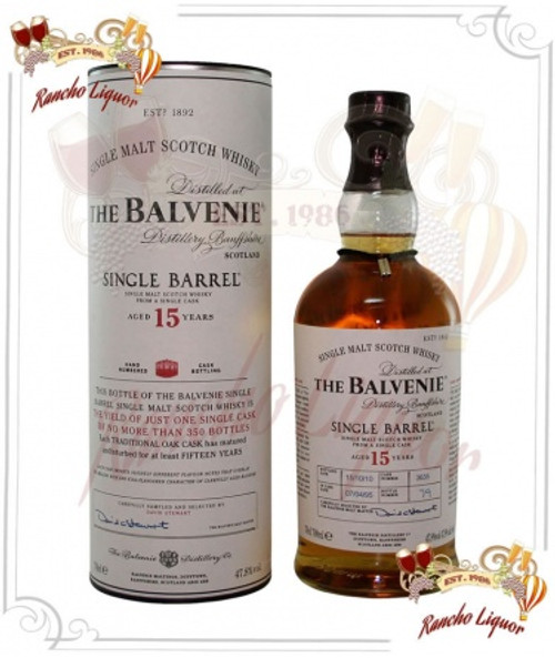 Balvenie 15 Year Single Malt Whiskey