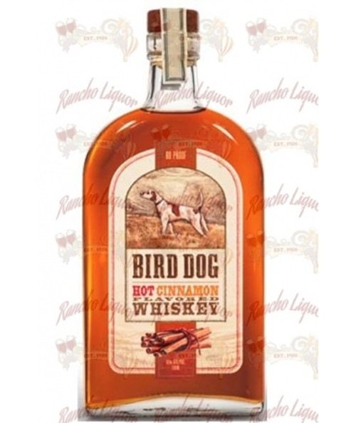 Bird Dog Hot Cinnamon Flavored Whiskey 750 m.L.