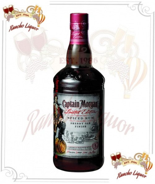 Captain Morgan Limited Edition Sherry Oak Finish Spiced Rum 750mL