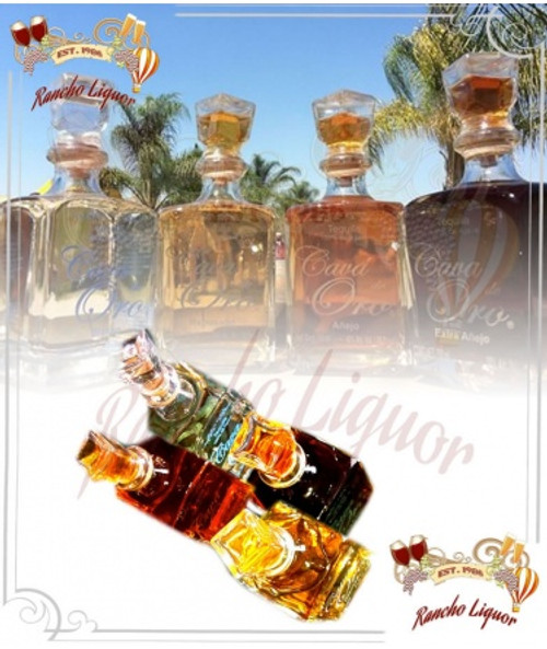 Cava de Oro Tequila Set (4 Bottles) 750mL
