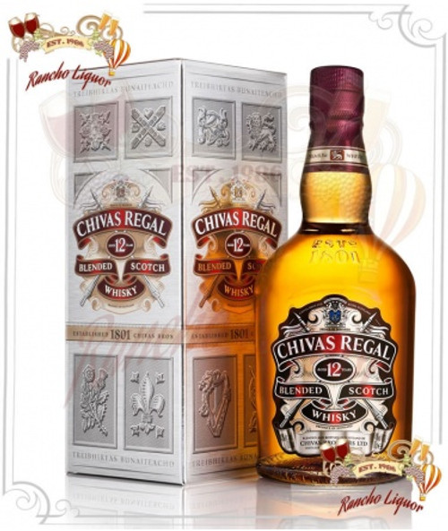Chivas Regal 12 Year Whiskey