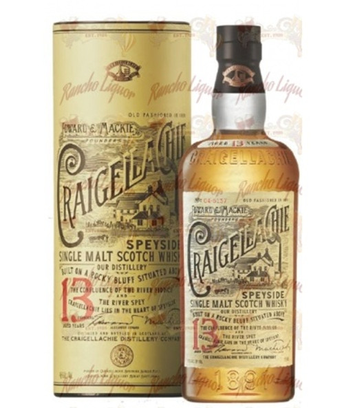 Craigellachie 13 Year Old Single Malt Scotch Whisky 750 mL