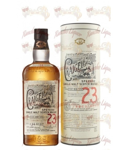 Craigellachie 23 Year Old Single Malt Scotch Whisky 750 mL