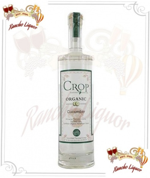Crop Harvest Earth Cucumber Flavored Organic Vodka