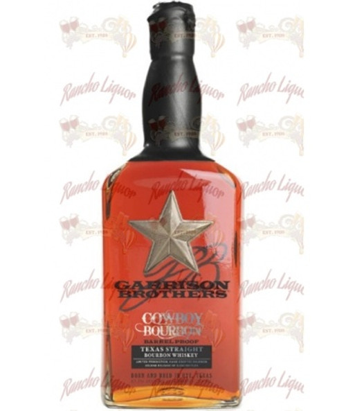 Garrison Brothers Cowboy Bourbon Barrel Proof Texas Straight Bourbon 750mL