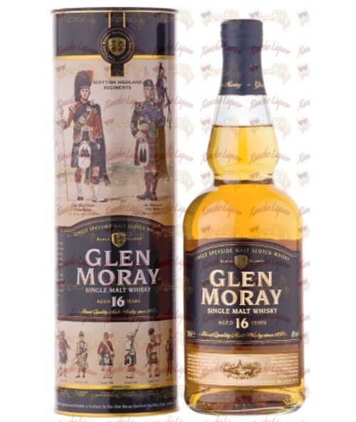 Glen Moray 16 Years Old Single Malt Whisky