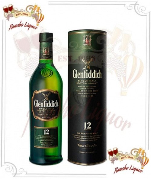 Glenfiddich 12 Year Single Malt Scotch Whiskey