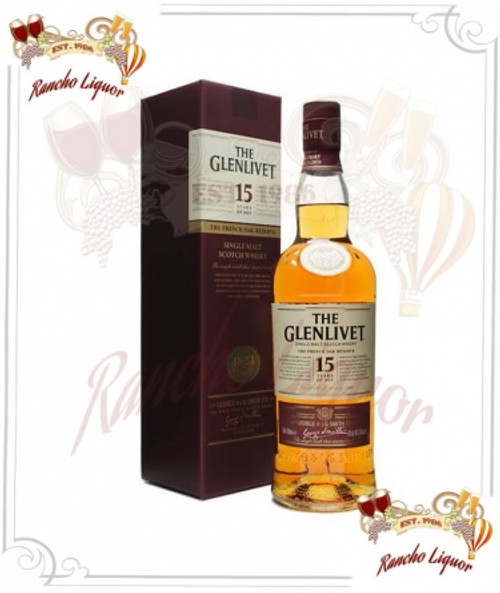 Glenlivet 15 Year Single Malt Scotch Whisky