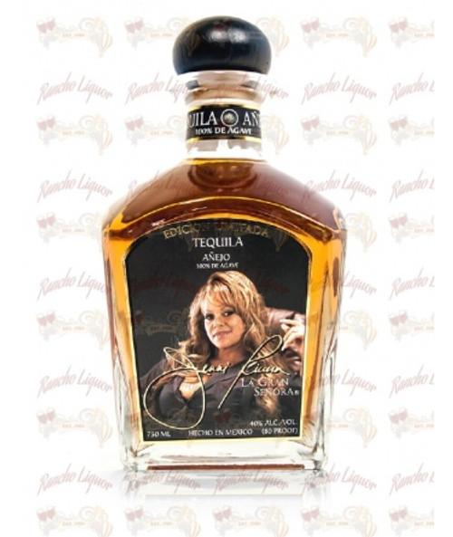 Jenni Rivera La Gran Senora Tequila Anejo 750mL