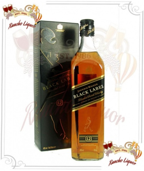 Johnnie Walker Black Label Whiskey