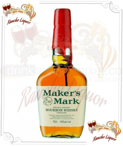 Maker's Mark Kentucky Straight Bourbon Whiskey 750mL
