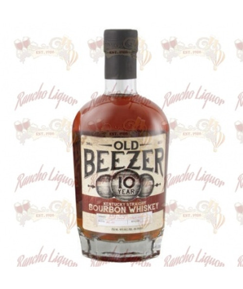 Old Beezer 10 Year Old Kentucky Straight Bourbon Whiskey