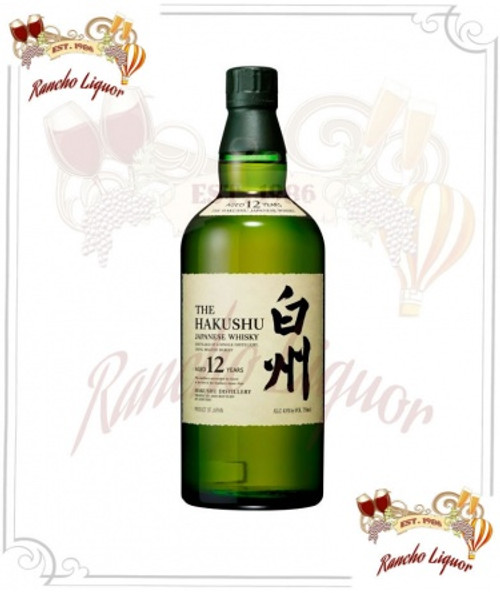 Suntory Hakushu 12 Year Old 750mL