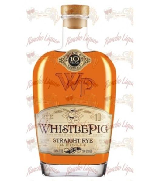 WhistlePig Straight Rye Whiskey 750mL