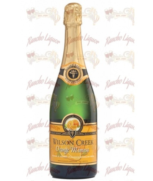 Wilson Creek Orange Mimosa Sparkling Wine 750 m.L.