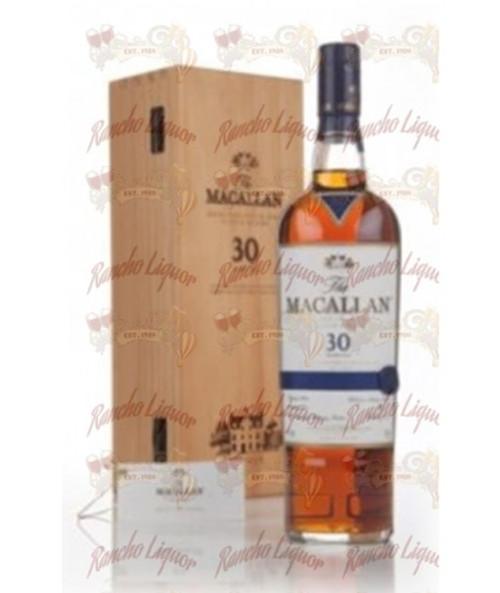 Macallan 30 Years Old Sherry Cask Single Malt Scotch 750mL