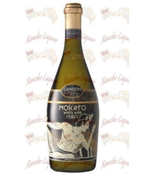 Candoni Moscato D'Italia White Wine 750 m.L.