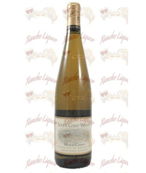 South Coast Winery Muscat Canelli 750 mL