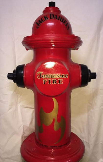 Jack Daniel's Tennessee Fire Whiskey Fire Hydrant