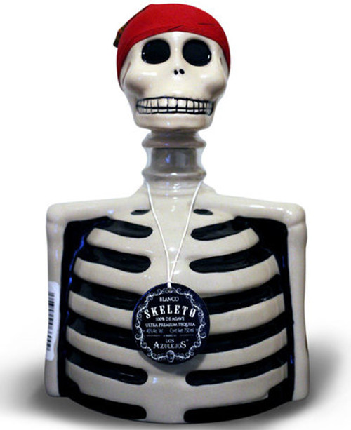 Skeleto Blanco Tequila 750mL
